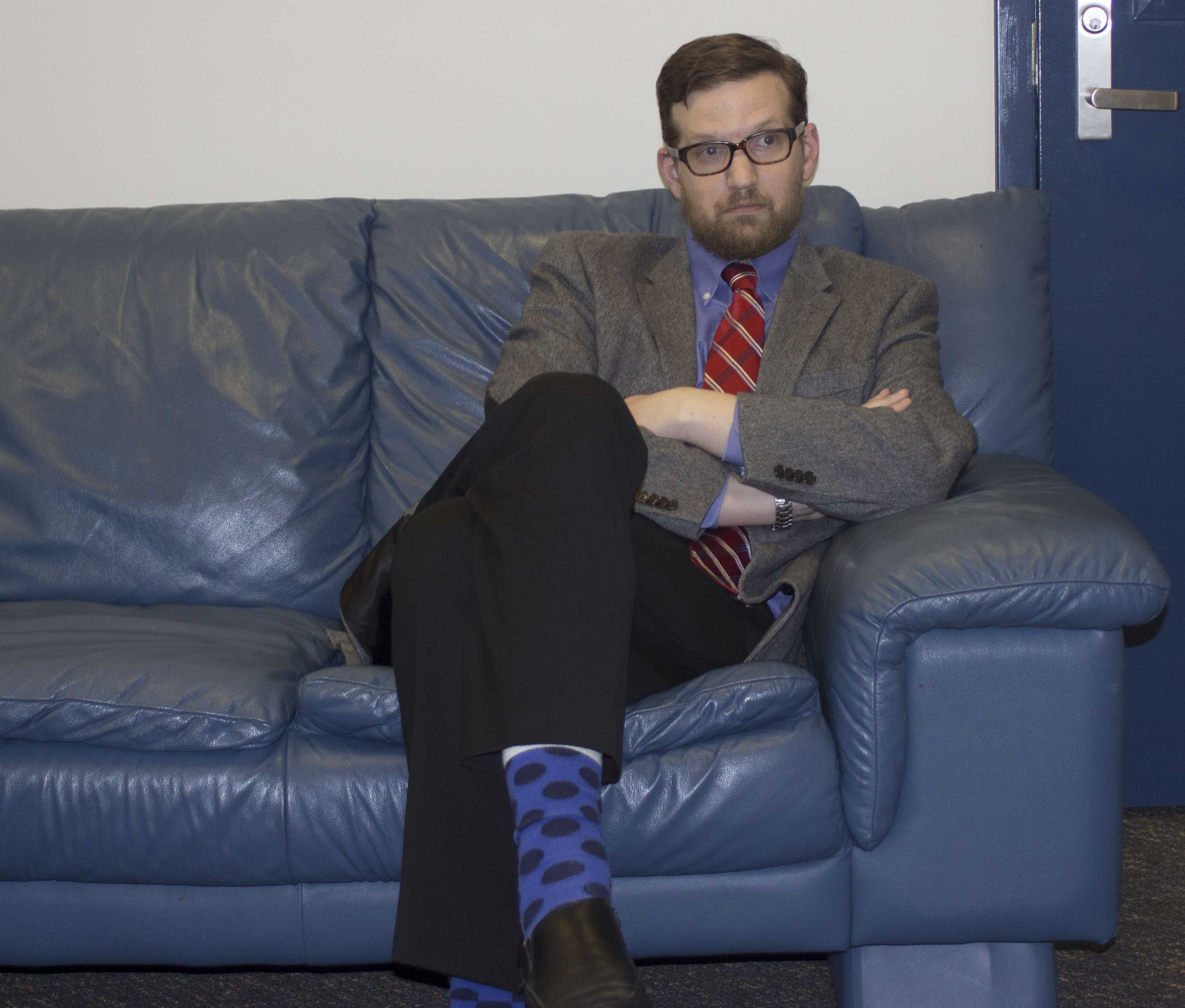 Mr. Crouch, as the adviser of the newspaper class, normally keeps his own voice out of the paper. However, the staff decided we wanted an article dedicated to him, and so Crouch's Couch was created.