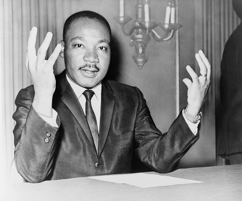 Civil+rights+icon+and+Nobel+Peace+Prize+winner+Martin+Luther+King+Jr.%2C+1964.