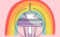 Seattles 2021 Virtual Pride. Art by Halli Conom